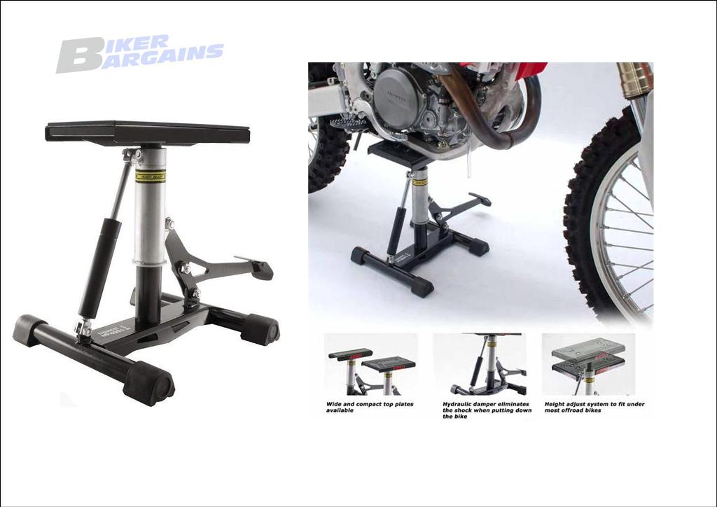 LIFT STAND WITH DAMPER MOTOCROSS 1164