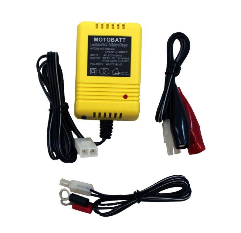 BATTERY CHARGER CHEAPIE 0.5A