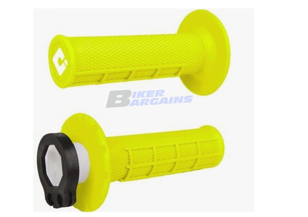 ODI LOCK ON GRIPS FLO YELLOW