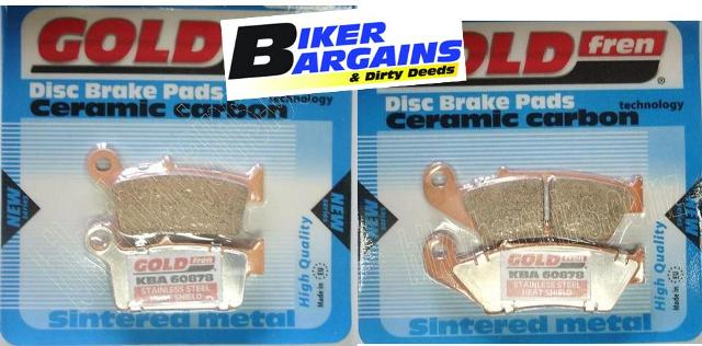 BRAKE PAD SET CR YZ KX RM FRONT & REAR