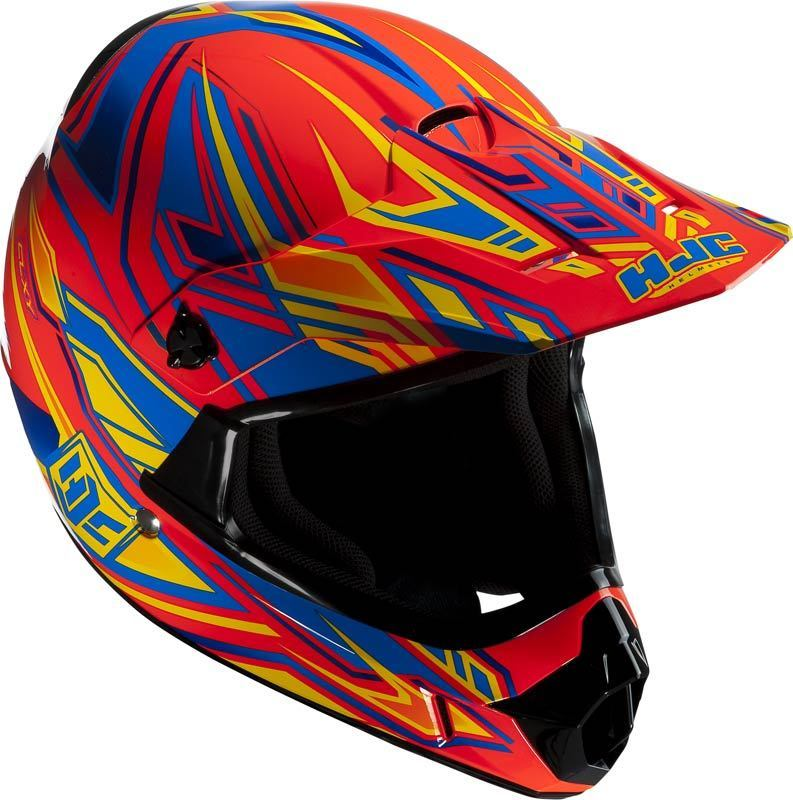 HJC KIDS MOTOCROSS HELMET ORANGE