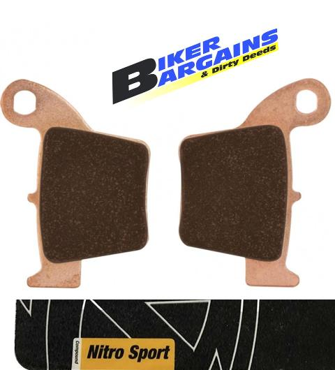 MOTOMASTER BRAKE PAD CR CRF NITRO SPORT REAR