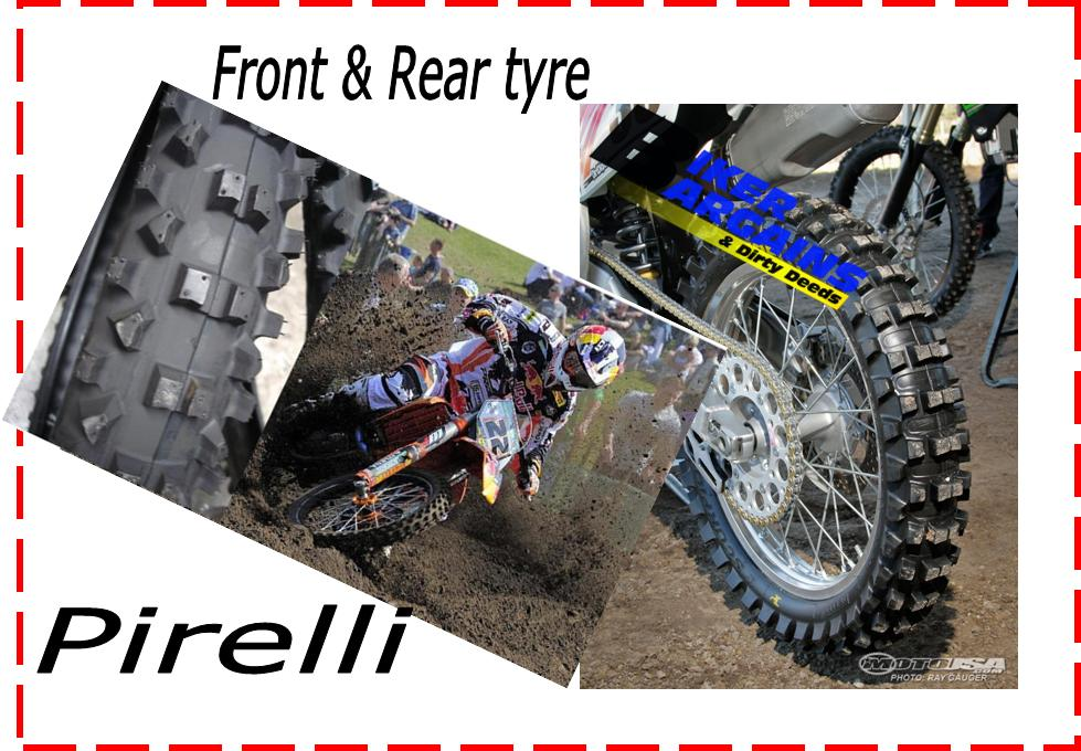 PIRELL TYRE SET SCORPION MS32 110/90-19 + 80/100-21