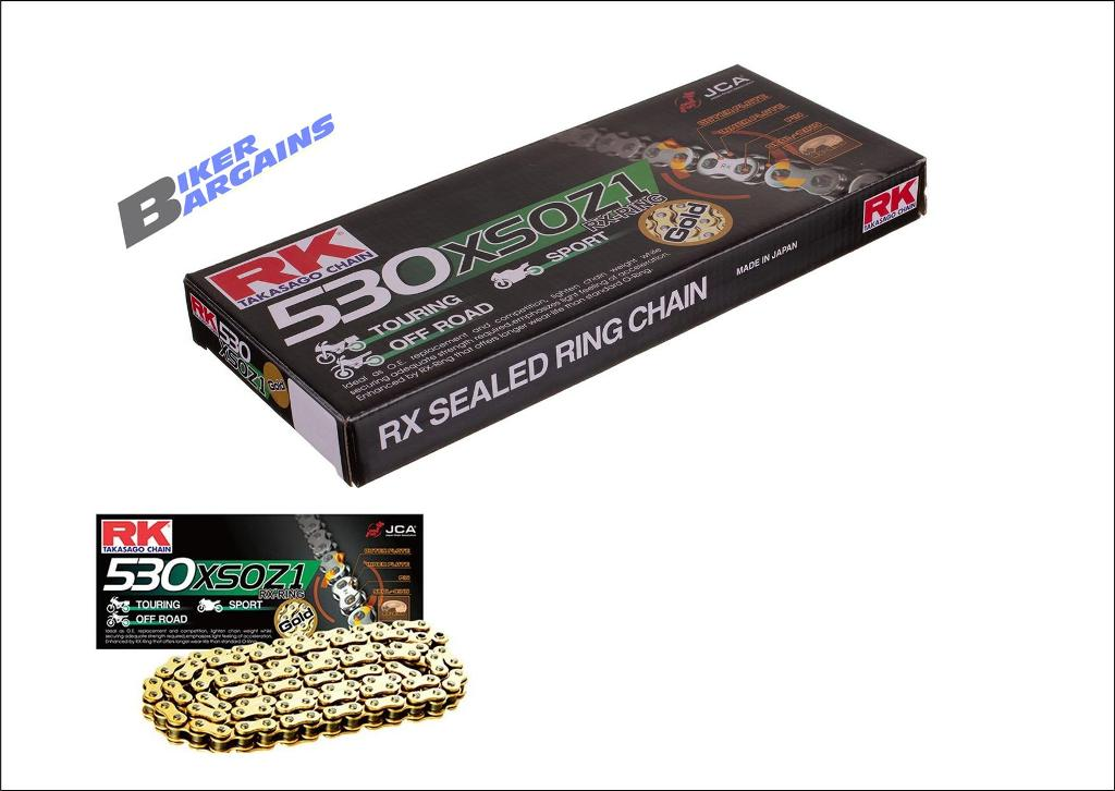 RK 530 XSO X-ring Chain 110L GOLD