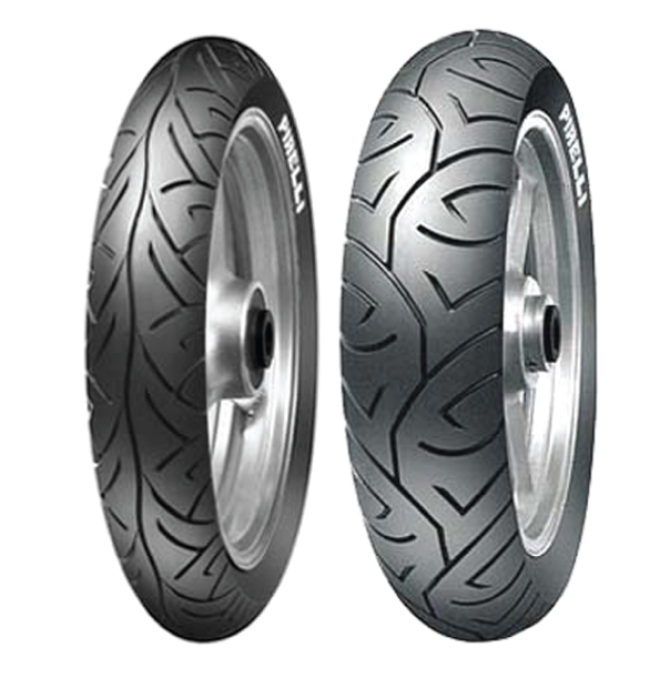 PIRELLI SPORT DEMON SET 110/70-17 & 140/70-17