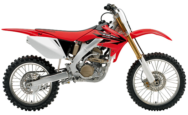 SPECIFICATION CRF250 2006