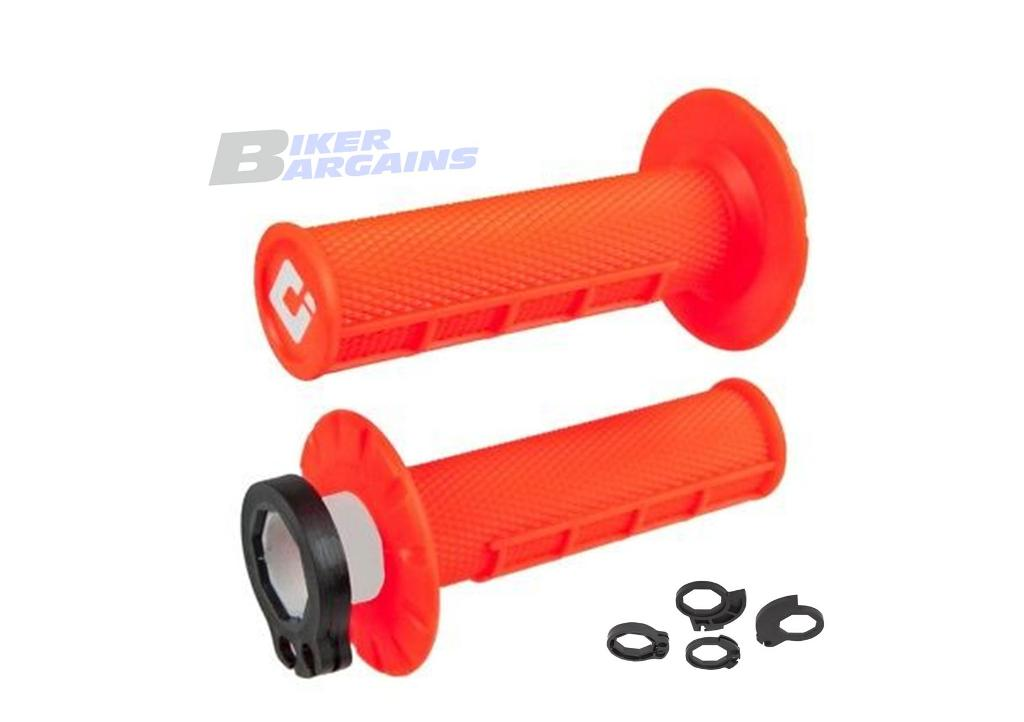 ODI LOCK ON GRIPS FLO ORANGE