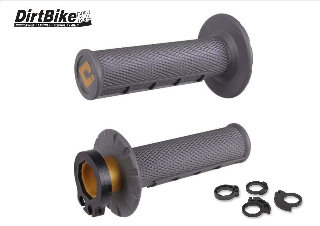 ODI LOCK ON GRIPS GRAPHITE GREY