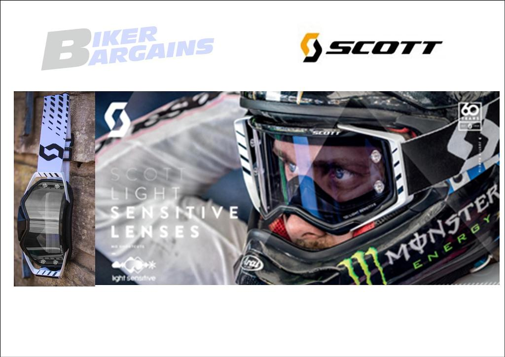 SCOTT PROSPCET LIGHT SENSITIVE GOGGLE