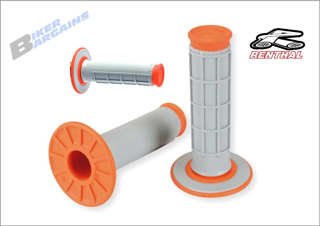 RENTHAL DUAL COMPOUND GRIP ORANGE