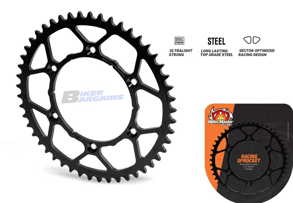 MOTOMASTER REAR SPROCKET ULTRA LIGHT KTM 52T