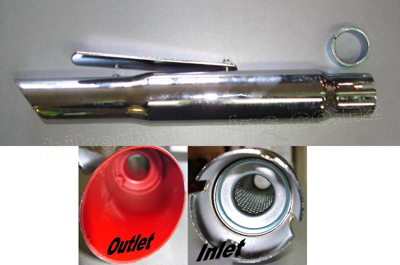MUFFLER SLASH CUT
