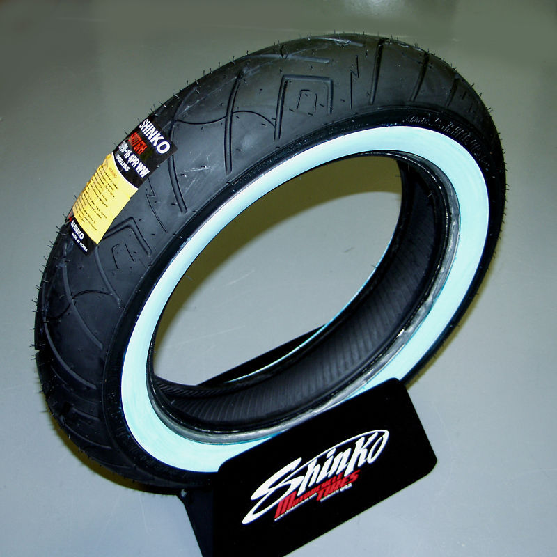 SHINKO WHITE WALL TYRE 150/80 -16
