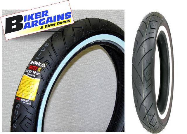 SHINKO WHITE WALL TYRE 100/90-19